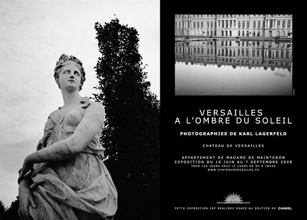 Versailles à l'ombre du soleil, ph. by Karl Lagerfeld