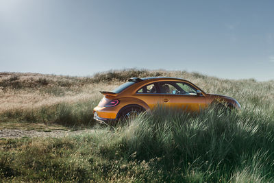 The VW Beetle Dune Concept