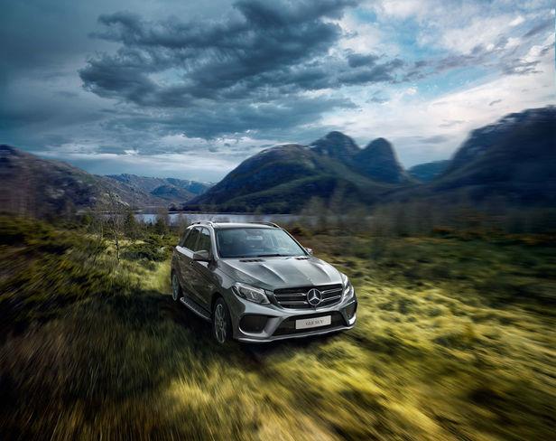 KELLY KELLERHOFF REPRESENTS! THOMAS SCHWOERER for Mercedes Benz GLE