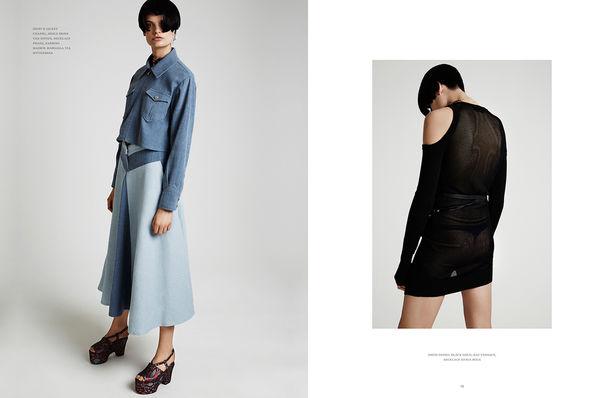 Isabel Eiler H&M for ONE Magazine