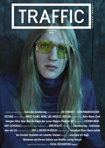 EDISONGA : OWN REALITY for TRAFFIC Magazine