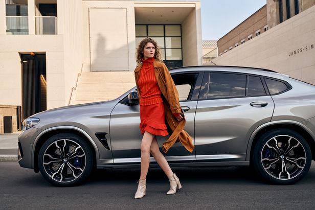 MAGNUS WINTER shoots the BMW X4 in Berlin