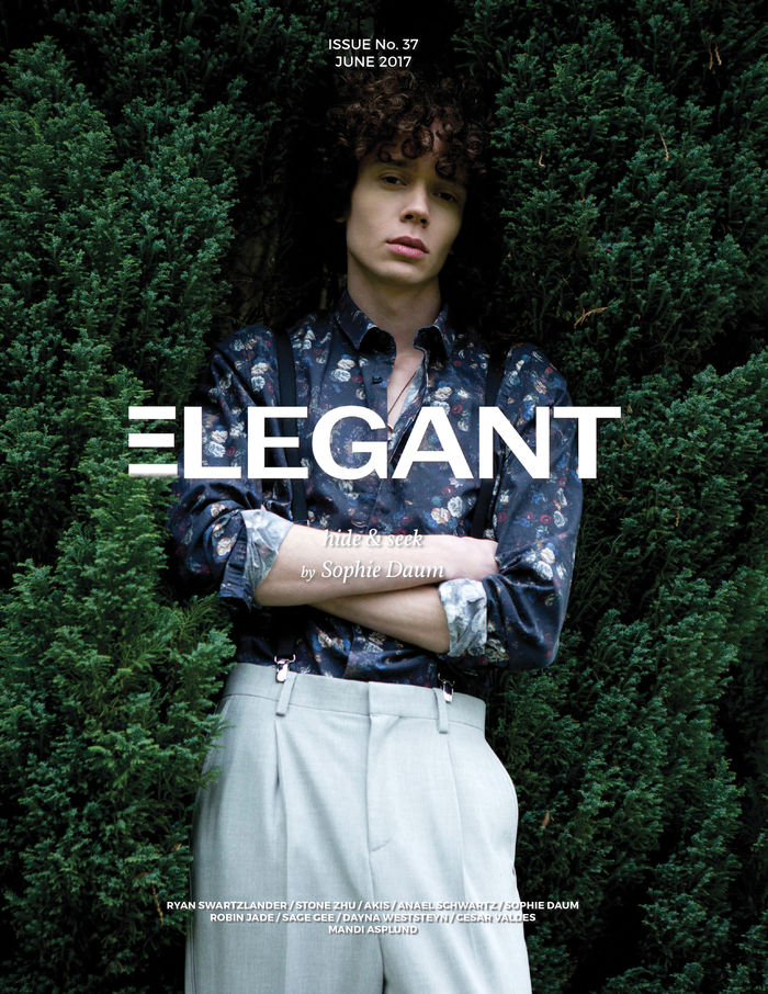 Miles for Elegant Magazine shot by Sophie Daum