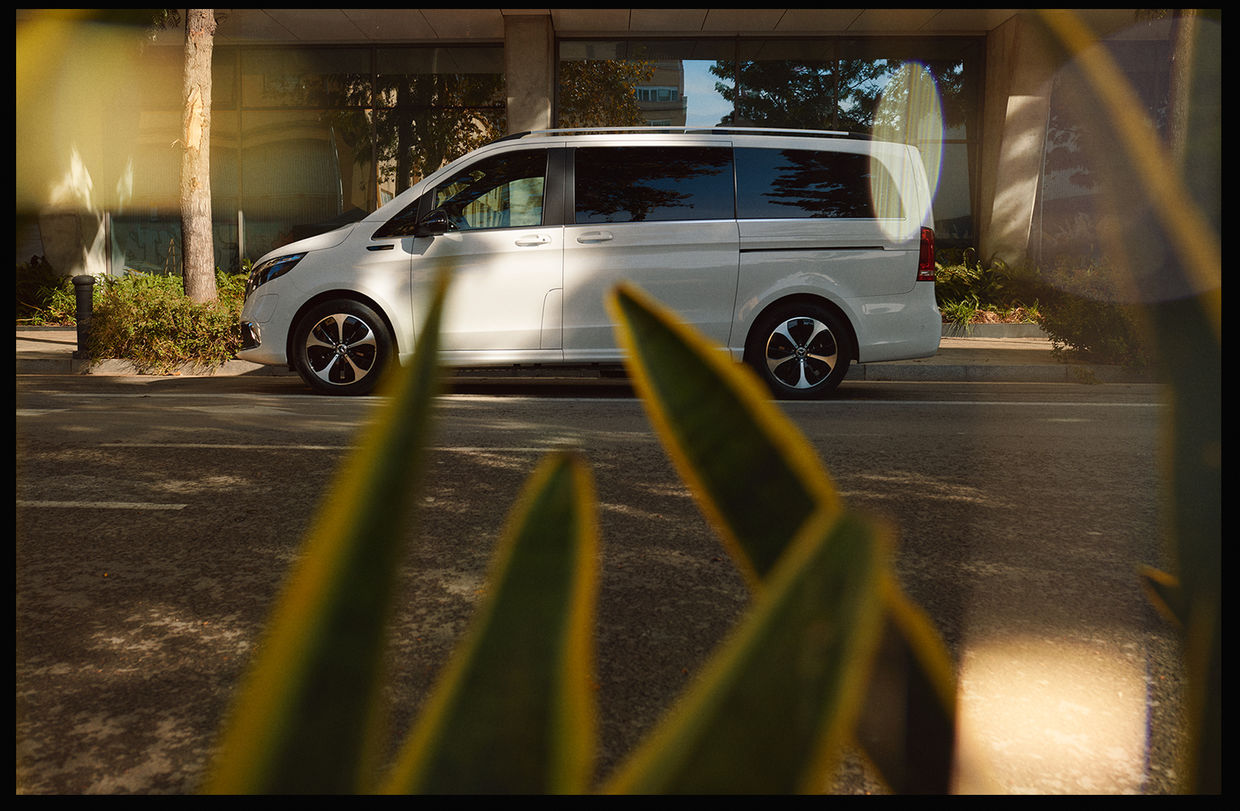 The all new Mercedes-Benz EQV Campaign shot by BAM