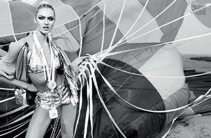 MUNICH MODELS : Candice SWANEPOEL for ELLE BRAZIL