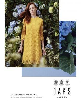 VIVA MODELS : Dani Witt for DAKS SS 2019 Campaign