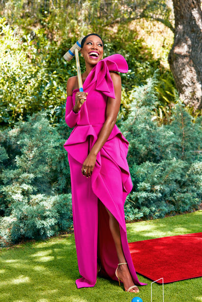EMILY SHUR c/o GIANT ARTISTS SHOOTS YVONNE ORJI FOR PEOPLE MAGAZINE