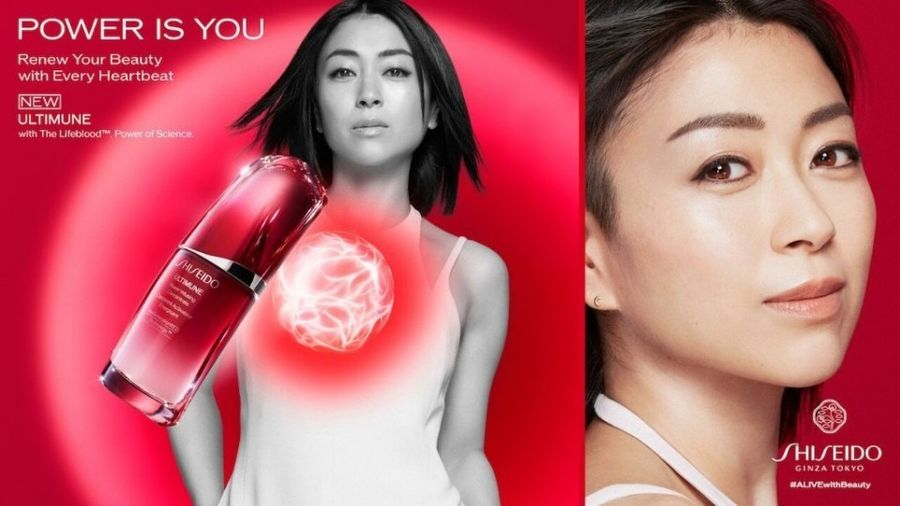FRAUKE FISCHER photographs singer Hikaru Utada  for Shiseido