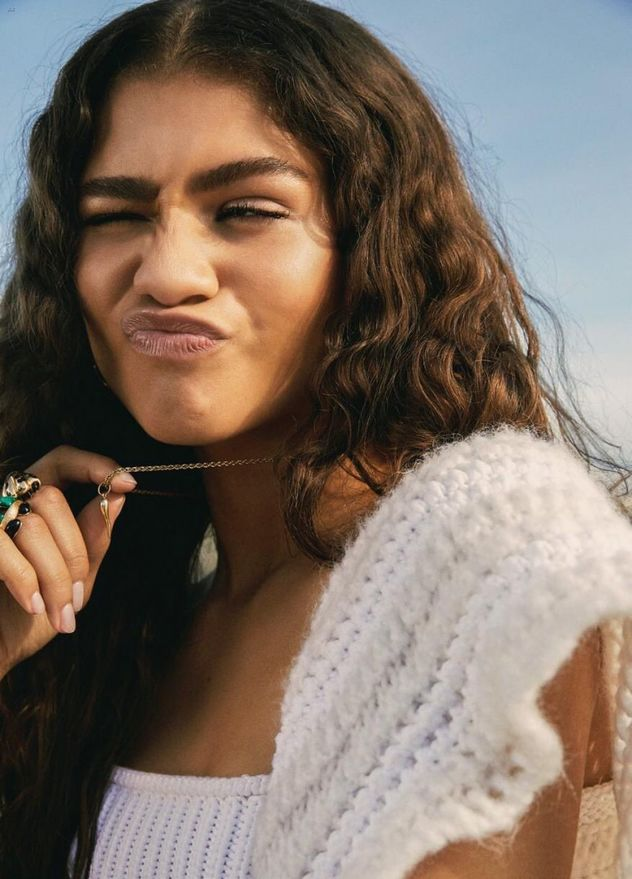 GLAM PRODUCTION produced French Glamour featuring Zendaya in Tommy Hilfiger
