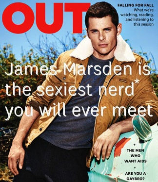 GLAMPR  for OUT MAGAZINE feat. James Marsden