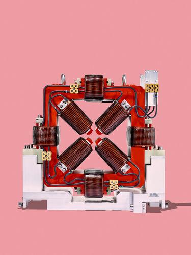 SCANDERBEG SAUER : PSI Quadrupol-Magnet