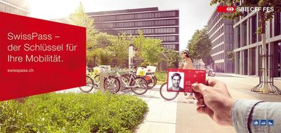UPFRONT: Jonathan Heyer for SBB // SwissPass