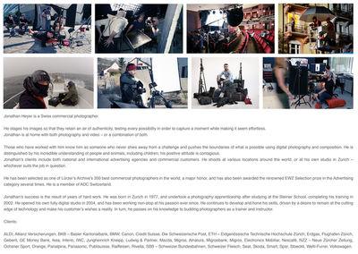 UPFRONT PHOTO & FILM GMBH: Jonathan Heyer