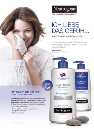 STEPHANIE WENCEK: Andreas Andé for Neutrogena