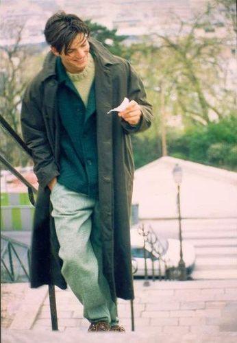 Jesse JUDE in PARIS,  Wearing José LEVY à PARIS