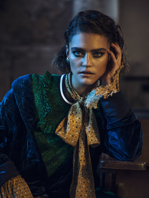 CLAAS CROPP CREATIVE PRODUCTIONS: LINA TESCH FOR GALERIES LAFAYETTE