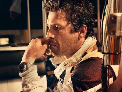 ANKE LUCKMANN: Patrick Dempsey for GQ GERMANY
