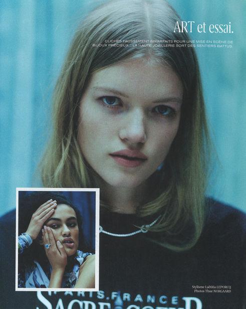 Berlin Based Madeleine Fischer for M Le magazine du Monde | 2021 | ICONIC