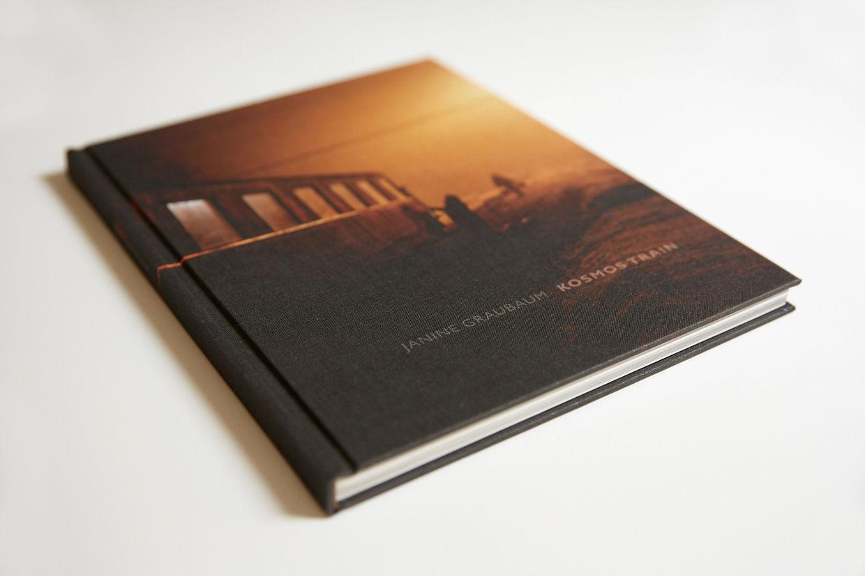 "Photo Book ""KOSMOS TRAIN"" by JANINE GRAUBAUM (hardcover) + signed"