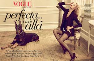 MUNICH MODELS : Magdalena FRACKOWIAK for VOGUE MEXICO