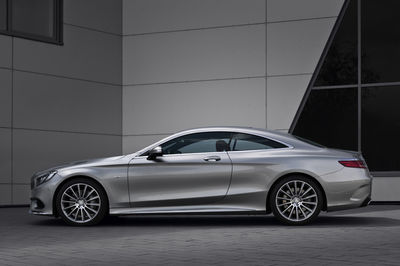 The 2014 Mercedes-Benz S Class Coupé