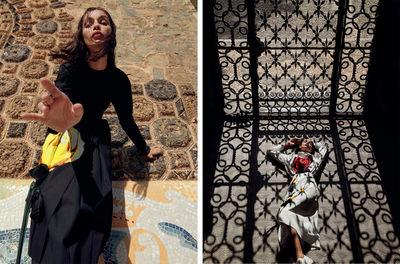 ROCKENFELLER & GöBELS: FASHION EDITORIAL FOR VOGUE ARABIA BY FERNANDO GOMEZ