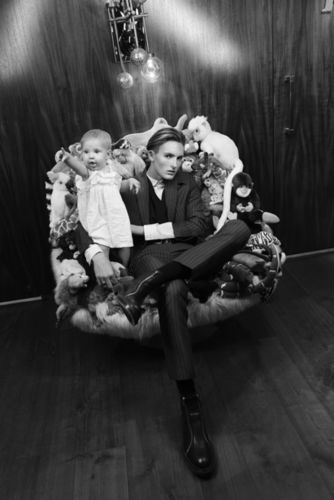 ' Party for two! ' ESTHER HAASE for ICON MAGAZINE