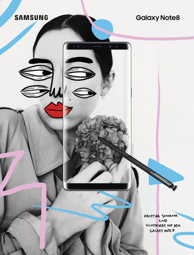Kristina Suvorova Galaxy Note 8