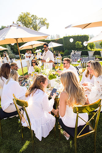 GLAM PRODUCTION coproduced with c/o unforgettable the Influencer launch event for MDO skincare by celeb doc Simon Ourian in Los Angeles