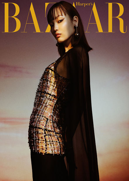 Mimi Roncevic c/o BLOSSOM MGMT (styling) for Harper's Bazaar Ukraine