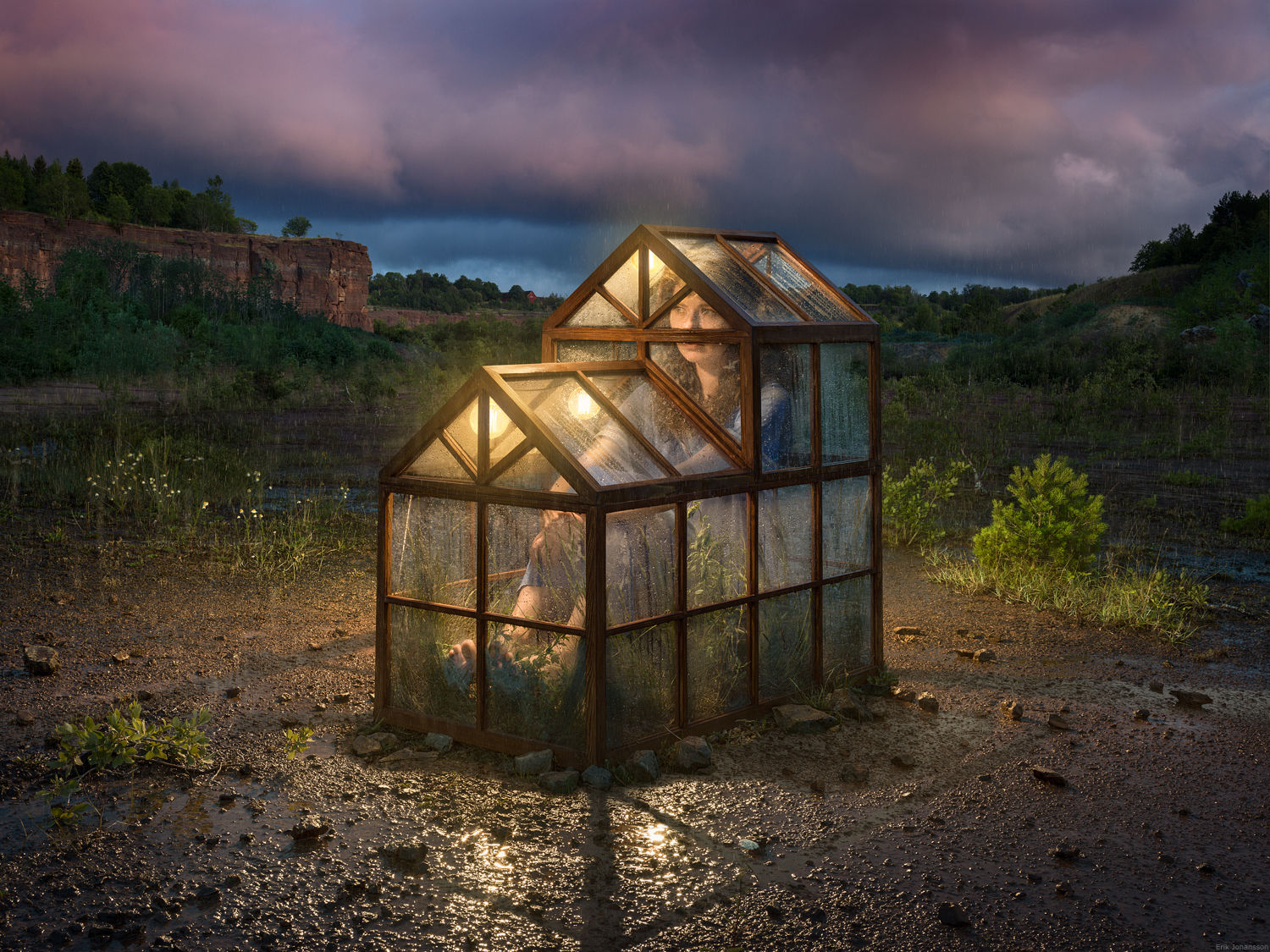 'Comfort Zone' Erik Johansson c/o AGENT MOLLY & CO