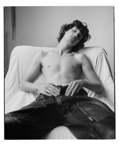 ' Neuromancer' - Matthieu Villot for OFF BLACK Magazine by Benjamin VNUK c/o LUNDLUND