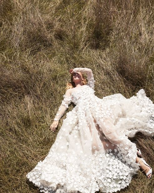 ROCKENFELLER & GöBELS: WOMAN WEDDING EDITORIAL BY STEPHAN GLATHE