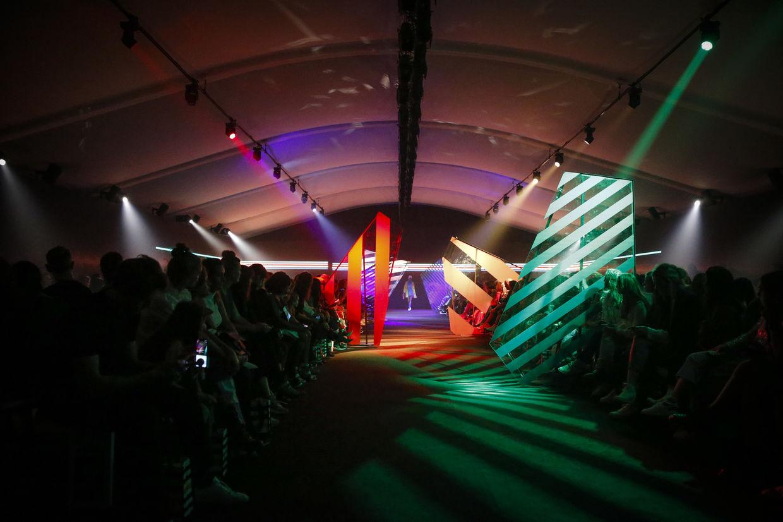 RACHID NAAS for Hudson's Bay Amsterdam Fashion Week FW2018