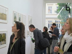 Robert Brembeck - Verschwinden (exhibition opening at Pavlov's Dog Gallery, Berlin)