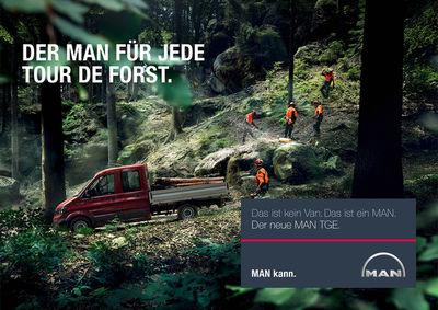 FRITHJOF OHM & PRETZSCH / MAN TGE Van Launch