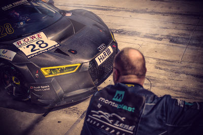 Audi R8 LMS Ultra GT3 Team Land Motorsport