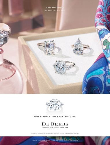 Roberto Badin c/o MARLENE OHLSSON PHOTOGRAPHERS : DE BEERS Campaign