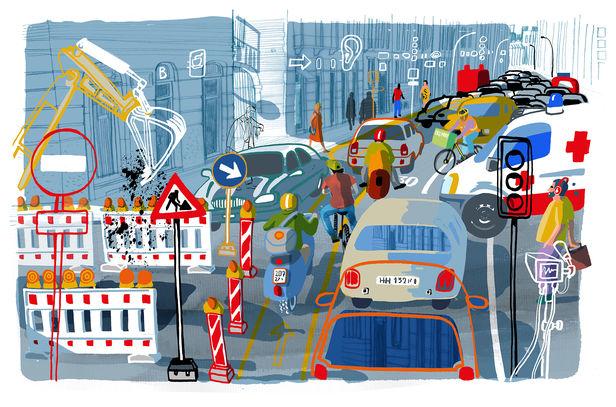 CAR FREE CITY for FAZ by CARLO STANGA c/o 2AGENTEN