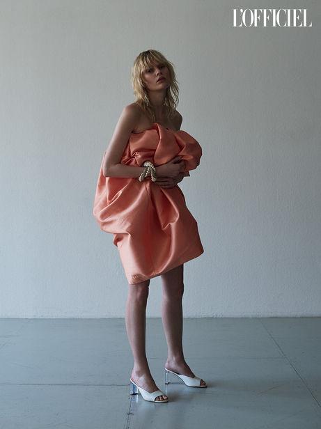 NINA KLEIN, Patricia Heck Hair & Make Up, Ansagar Sollmann, L´Officiel Ukraine