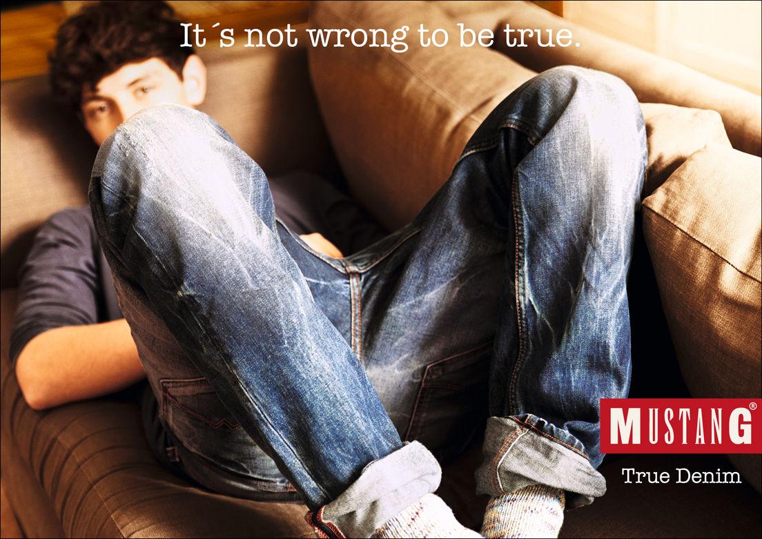 GOSEE ADVERTISING : KOLLE REBBE for MUSTANG