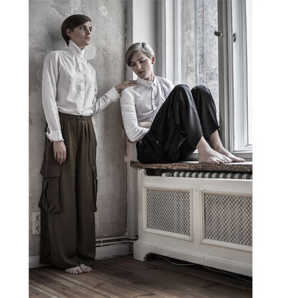BLOSSOM MANAGEMENT GMBH: Stephan Schmied (Grooming) und Cariin Cowalscii (Styling) for Salve Magazin Photo: Bernd Ott