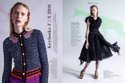 VIVA MODELS: Henna Lintukangas for Diva Magazine February 2016