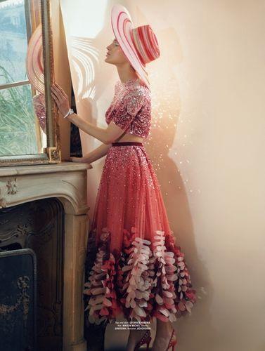 JPPS CREATIVE PRODUCTIONS & IRIS BROSCH for L'OFFICIEL AUSTRIA 'Couture'
