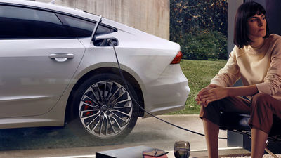 KLAUS STIEGEMEYER: Jan Friese & Claudia Scholtan for Audi