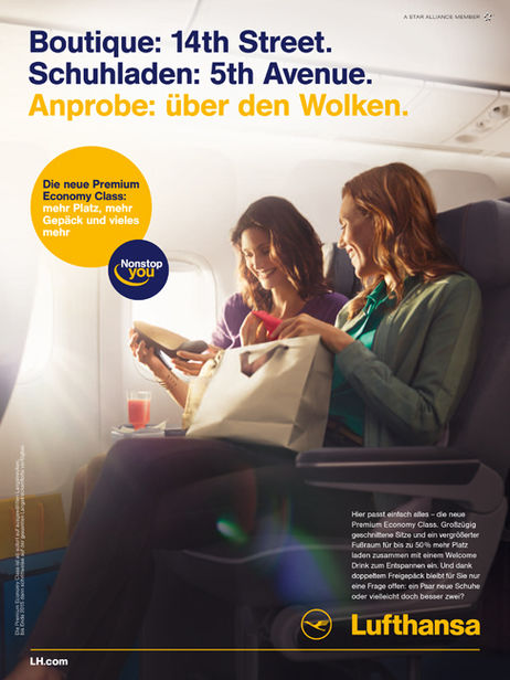 CLAAS CROPP CREATIVE PRODUCTIONS für Lufthansa
