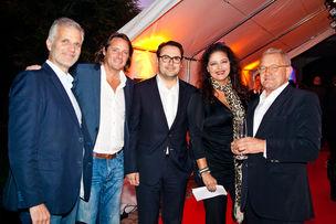 Winner Dinner 2011 :  Michael Trautmann (Kempertrautmann), Kai Röffen (KT West), Armin Jochum (Jung von Matt), Dörthe Spengler-Ahrens (Jung von Matt), Prof. Rempen (Büro Rempen )