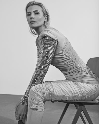 Harper's Bazaar Czech May 2018 Daniela Pestova by  ANDREAS ORTNER