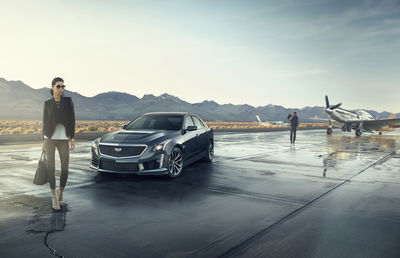 PATRICK CURTET for CADILLAC CTS-V