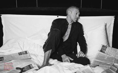 JPPS CREATIVE PRODUCTIONS : Vincent Cassel for Italian ICON by Michel Comte
